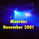 Monroes November 2001