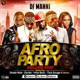 DJ MANNI AFRO PARTY VOL.5