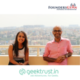 Hiring for startups with GeekTrust founders Sneha and Krishnan!