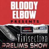 The MMA Vivisection PRELIMS - UFC Greenville 'Moicano vs Korean Zombie' Picks, Odds & Analysis