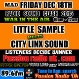 LITTLE SAMPLE MEET CITY exclusive radio hardcore show