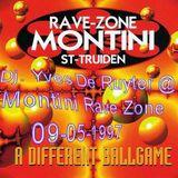 Dj. Yves De Ruyter @ Montini Rave Zone 09-05-1997