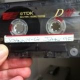 Johnny G - recorded Jan 1995 - C90 cassette - Vinyl Mix of House Music