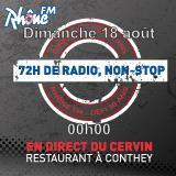Dimanche 18 août 2013 - 00h - défi des 72h00 de radio non-Stop
