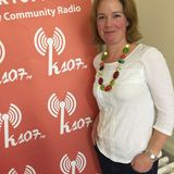 John Murray talks to Jane Banks on k107 FM about LaserFlair
