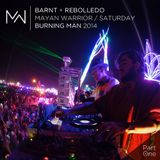 Rebolledo Vs. Barnt / The Mayan Warrior Pt. 1 /LANDR Podcast 004/