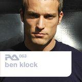 RA.063 Ben Klock