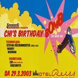 Marky @ Chi´s Birthday Bomb - Hotel Reiss Kassel - 29.03.2003