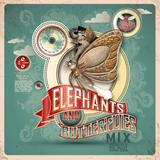 Elephants And Butterflies Mix