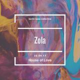 Zola Live at House of Love (22.04.17) @ Loftus Hall Berlin
