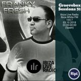 Groovebox Sessions 31 / Ibiza Live Radio / 03.10.2018