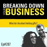 What do I do about holiday gifts w/ Jason Feifer