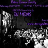 Retro Dance Party 04.01.2017 LIVE on Renegade Retro <renegaderetro.com>