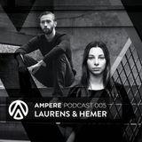 Laurens & Hemer @ Ampere pres. Ken Ishii 04-06-2016