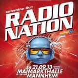Hanna Hansen@RADIONATION 2013 (Sunshine live)