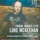 Nordic Trax Radio #92 - Luke McKeehan - Mercury Lounge Mix - August 2015