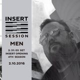 MEN - INSERT Opening Sesion October 2nd 2016 - 4th sesion