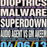 Malware & MC Precision - Live @ Bass & Bliss 04/06/13