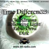 Fabio Orrù - Time Difference 221 (31 july 2016) on TM-Radio