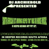 Dj archiebold mixcloud for Classic deep house mix
