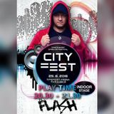 DJ Flash@CITY FEST Pardubice 25.6.2016