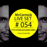 McCormick - Live Set # 054 100% Trance !