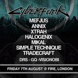 Cyberfunk August 2015 Promo Mix