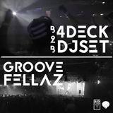 Groove Fellaz 4-Deck DJ-Set B2B Live - Spielboden 25.12.15