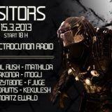 DJ Anakonda @ Visitors on Electrocution Radio 17.03.2013