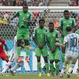 ARGENTINA 3 NIGERIA 2
