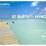 Mr V-Poz @ Santa Marina Beach Myconos Warm Up for Jacques Dumas 18.08.2012