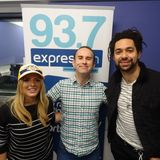 Russell Hill's Country Music Show on Express FM feat. The Shires + Zach Johnson. 08/04/18