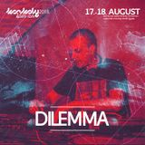 Dilemma live mix from Konkoly OA 2018 - oldschool drum and bass vinyl only mix