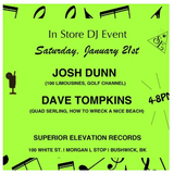 Josh Dunn & Dave Tompkins live in-store at Superior Elevation
