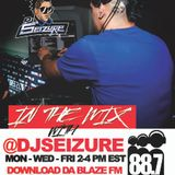 DJ Seizure LIVE on 88.7 Da Blaze FM Mon Oct 3
