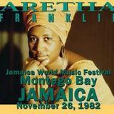 Aretha Franklin -Live 1982-11-26 Montego Bay, Freeport Zone, Jamaica