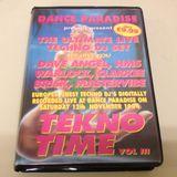 Dance Paradise Tekno Time Vol 3 12th Nov 1994 - Mastervibe