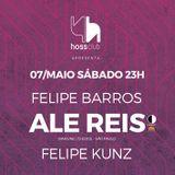 Hoss w/ Ale Reis | warm-up | 07/05/16 |
