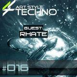 RHATE | Art Style: Techno RADIO 09/11/2013