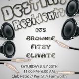 DJS BROWN E & FITZY - BOUNCE MIX - 22.6.13 - LIVE AT CLUB RETRO FARNWORTH