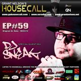 Housecall EP#59 (08/03/12) incl. a guest mix from DJ Sneak