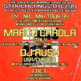"DJ Rush at ""Dy-Na-Mix Tour 99"" @ Markthalle (Bern - Switzerland) - 20 March 1999"