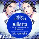 Julietta @ Moxa Club (Mantova,Italy) (19-04-2013)