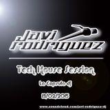 Javi Rodriguez - Tech House 3 Capsula dj 13/02/2015