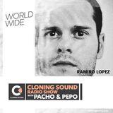 Pacho & Pepo present: Ramiro Lopez guest mix on Cloning Sound radio show :: 128