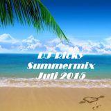 DJ - Ricky Summermix Juli 2015