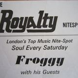 FROGGY & MARTIN COLLINS LIVE AT THE ROYALTY SATURDAY 11th APRIL 1981