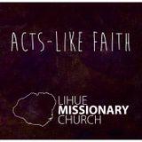 Acts-Like Faith