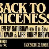 Back To Niceness 08/10/11