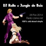 "DJ Rolla @ ""Jungle de bois"" sur Radio Usine - 28.02.2014 - special oldskool vinyls"